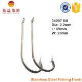 Crochet de pêche en acier inoxydable O'shaughnessy 34007