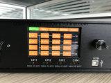 Amplificatore di potere di Digitahi DSP della Manica di Sanway Dp10q 4 audio con lo schermo di tocco