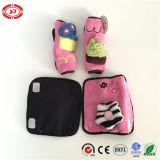 Pink e Black Custom Seatbelt Cover Car Baby Essential Toy