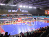 Suelo modular suspendido de Futsal que se enclavija, suelo del fútbol