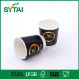 Tazza di caffè di carta doppia a gettare di stampa su ordinazione di marchio
