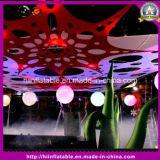 De LEIDENE Lichte Opblaasbare Octopus van de Decoratie voor het Decor van de Partij