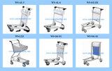 الفولاذ المقاوم للصدأ أو سبائك الألومنيوم مطار الأمتعة عربة عربة