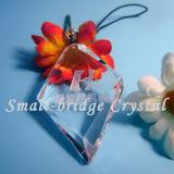3D losanje cristalino Keychain (ND3085)