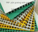 강철봉 격자판 (SM 38)와 더 높은 힘으로 동일을 비비는 FRP 격자판/섬유유리