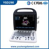 Ysd290 3D 휴대용 휴대용 퍼스널 컴퓨터 색깔 도풀러 초음파 스캐너