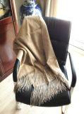 Одеяло Анти--Pilling равнины кашемира теплое