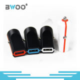 Bewegliche bunte einzelne USB-Auto-Aufladeeinheits-Telefon-Aufladeeinheit