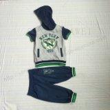 Одежды комплектов костюма мальчика Summmer в одежде износа детей устанавливают Sq-6230