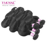 自然な毛ブラジルボディ波100%の人間の毛髪