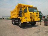 Sinotruk HOWO Marca Minería camión volquete para 40tons, 50tons