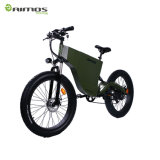 Bici elettrica della città della gomma grassa piena della sospensione