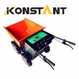 構築の交通機関のための電池式の電気小型ローダーのダンプの手押し車