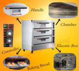 Großverkauf-Berufsbäckerei-Maschinen-elektrischer Plattform-Ofen mit 9 Tellersegmenten