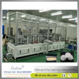 Einfache geöffnete Aluminiumfolie ziehen beendet weg die Herstellung der Maschine ab