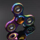 Tri giocattolo variopinto di irrequietezza della rotella del filatore della barretta del filatore (abbagliato) mini