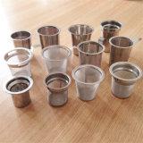 Qualitäts-umweltfreundliche Glasteekanne mit Edelstahl-Maschendraht-Tee Infuser