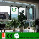 Glace en aluminium de Windows et guichet se pliant fabriqués en Chine
