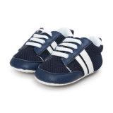 新生の男の子の女の子の優れた柔らかい唯一の幼児Prewalkerの幼児のスニーカーの靴、最初Swalkers