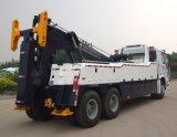 HOWO 도로 복구 트럭 /50 톤 구조차 견인 트럭
