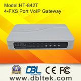 4개의 포트 (HT-842T)를 가진 FXS 게이트웨이
