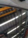 201 feuilles de toile d'acier inoxydable