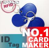 最下の価格のABS Tk4100 125kHzスマートなRFID Keyfob