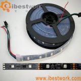Pixeles IP65 de la luz de tira de DMX LED 48 LED 16 impermeables