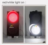 Nuovo semaforo bianco rosso del segnale LED di arrivo 300mm