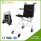 Cadeira de rodas de dobramento ultra leve do transporte do avião