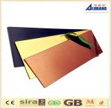 Uso compuesto del panel de Firepoof/de aluminio del panel para la pared del revestimiento