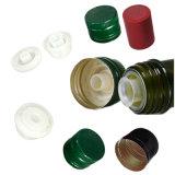 obscuridade de 750ml Suqare - frasco de vidro verde de petróleo verde-oliva com parte superior do parafuso