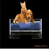 Fatory는 로비 아크릴 애완 동물 침대를 주문을 받아서 만들었다