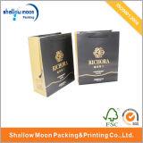 Handgriff-Golddruckpapier-verpackenbeutel (QY150012)