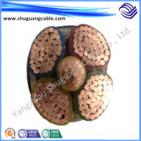 Flame Retartdant Mv XLPE Insulated PE Sheathed Steel Tape Armored Power Cable