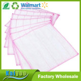 Bamboo волокно Exfoliate лицевые ткани тарелки ткани кухни Exfoliator Washcloth