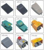 IP66 15A250V impermeabilizzano il singolo interruttore di piede resistente dell'interruttore di piede