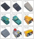 IP66 15A250V Waterproof o único interruptor de pé resistente do interruptor de pé