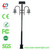 18W Solar LED Garten Light mit Double Lamp