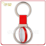 Best Seller Printable Round Shape Spinning Metal Promotional Key Chain