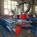 Máquina de soldadura vertical automática para o tanque de aço galvanizado