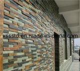 벽을%s 싼 자연적인 구체적인 슬레이트 문화 돌