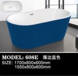 Modernes Hotel Hot Selling Style Bathroom Soaking Bathtub (608B)