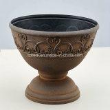 旧式な壷の植木鉢(KD2973)