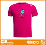 T-shirt à séchage rapide d'ajustement des sports des hommes