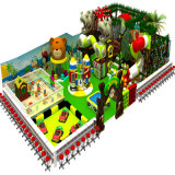 Campo de jogos plástico, corrediça com o campo de jogos da combinação do balanço