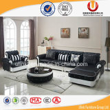 Sofá con estilo del cuero genuino de la sala de estar contemporánea (UL-Z8001)