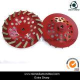 180mm 터보 세그먼트 구체적인 가는 다이아몬드 컵 바퀴