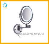 호텔을%s 미러 확대 거울을 면도하는 단순한 설계 벽