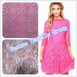 Nylonhäkelarbeit-Spitze des neuen Entwurfs-2016 für Kleid-Spitze